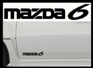 MAZDA 6 CAR BODY DECALS